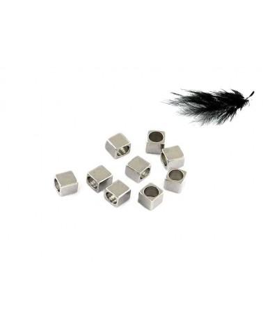 Carré 2,5mm acier inox X10