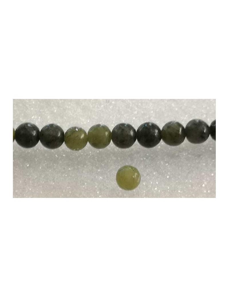 Jade de Taiwan 6mm vert foncé x 15