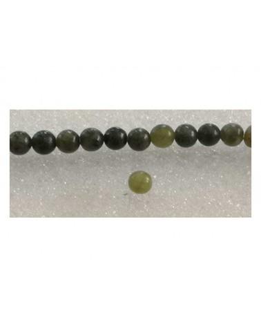 Jade de Taiwan 4mm mix vert x 15