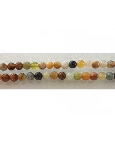 Jade naturel du xiuyan 6mm x15