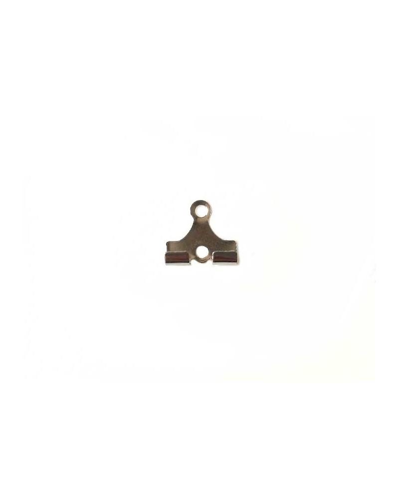 Embout de sertissage pour créoles en acier inox X6