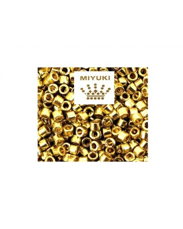 Délica Miyuki DB1832 Galvanised gold x2g