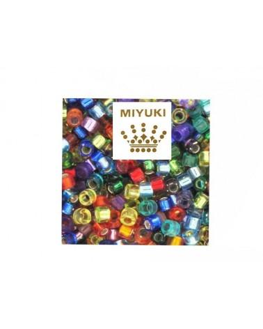 Mix Délica Miyuki 11-0 rainbow x2g