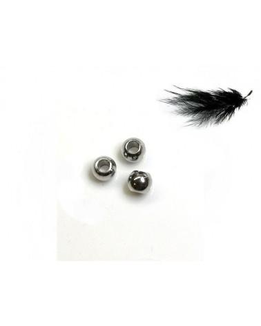 Boule 3x2mm Acier inox 316 x 10