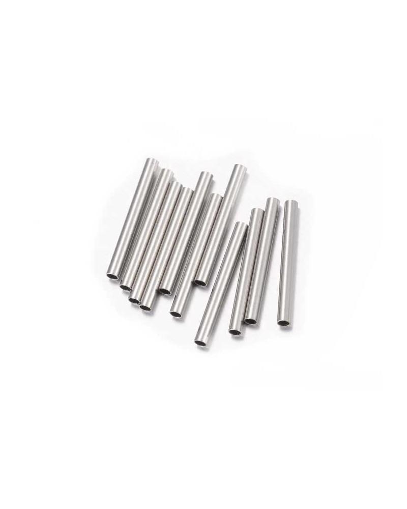 Tube acier inox 25x1,5mm x10