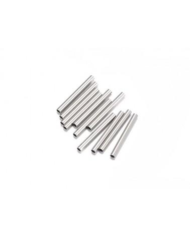 Tube acier inox 15x1,5mm x10