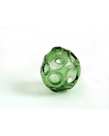 Magali CANAL  Perle en verre soufflé puis percée N°10