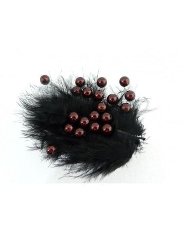Perles magiques 6mm marron foncé par 25 ou 150