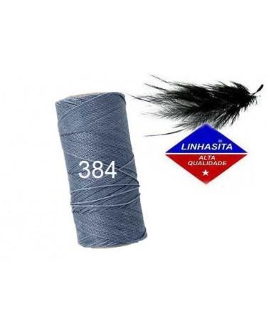 Fil ciré 1MM Linhasita Jeans (384) x 5M