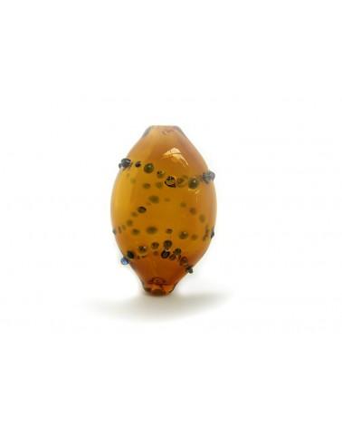 Magali CANAL Perle en verre soufflée N°9
