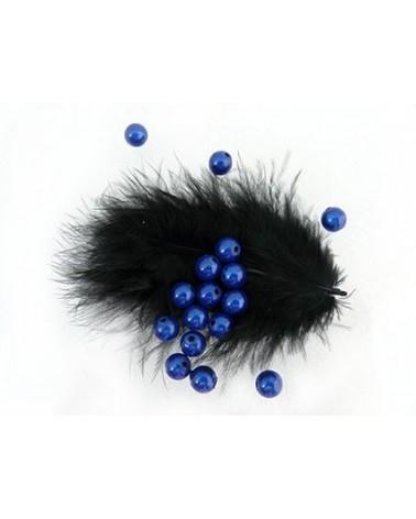 Perles magiques 6mm bleu saphir par 25 ou 150