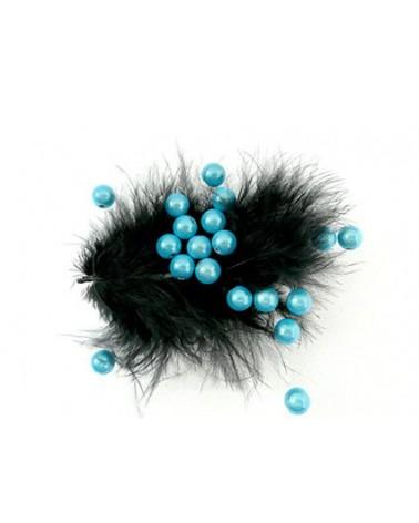 Perles magiques 6mm  turquoise clair par 25 ou 150