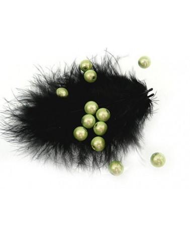 Perles magiques 6mm vert pomme/.anis par 25 ou 150