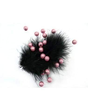 Perles magiques 6mm rose par 25 ou 150