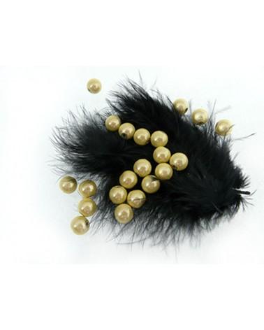 Perles magiques 6mm jaune champagne par 25 ou 150