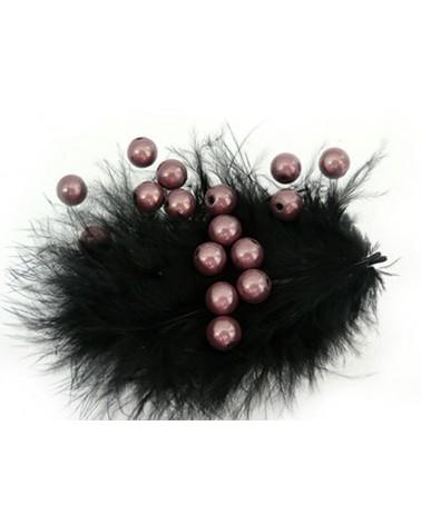 Perles magiques 6mm gris taupe par 25 ou 150