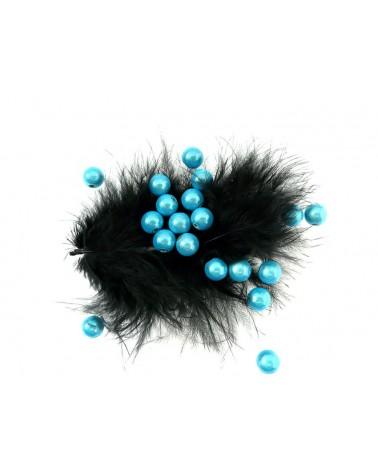 Perles magiques 8mm turquoise clair par 20 et 100