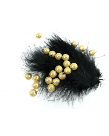 Perles magiques 8mm jaune champagne par 20 ou 100