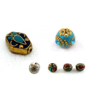 Perles Indonésie/ Tibet