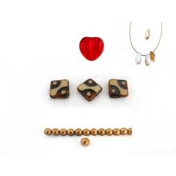 Perles Tchèques diverses