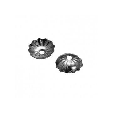 Coupelles métal / noir