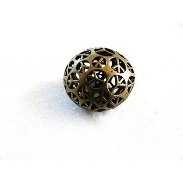 Perles filigranées