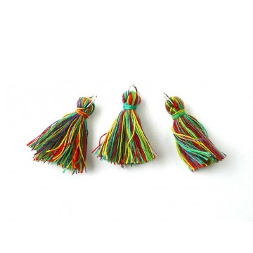 Pompons textiles