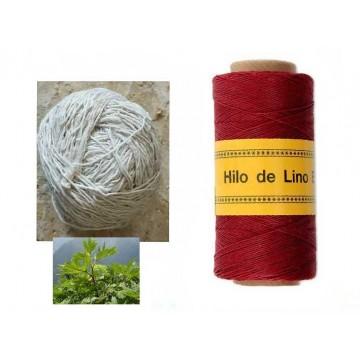 Fil en fibre naturelle